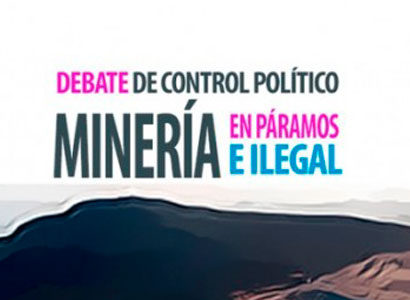 Photo of Debate de control: Minería en páramos