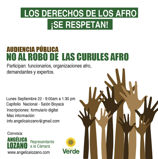Photo of ​L​os derechos de los afro ¡se respetan!