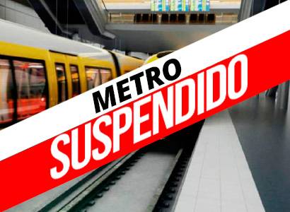 Photo of Metro Suspendido. Meses que podrían ser años