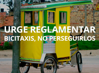 Photo of Urge reglamentar bicitaxis, no perseguirlos