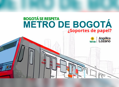 Photo of Metro de Bogotá. Debate de Control político