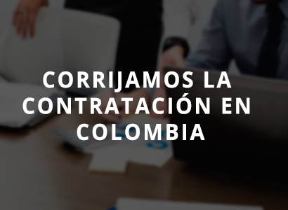 Photo of Modifiquemos las leyes de contratación en Colombia juntos.