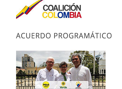Photo of Acuerdo programático. Coalición Colombia